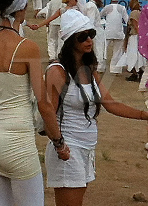Demi Moore's Top Secret Yoga Fest in New Mexico