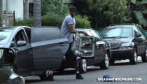 Lamar Odom -- Attacks Paparazzi, Trashes Camera and a Car