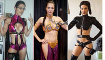 Adrianne Curry's Comic-Con Costumes -- Skimpin' Out!