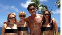 Charlie Sheen -- Meet My 'Angels' ... Now Meet Their Boobs
