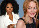 Lindsay Lohan Bails On EuroTrip -- Thanks to Oprah