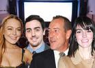 Lindsay Lohan -- SOBER Family Fun Night