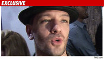 JC Chasez Scares Off Suspect in Attempted Burglary