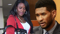 Usher's Ex-Wife to Aunt -- Say It To My Face ... How'd My Son Nearly Die On Your Watch?