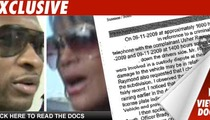 Usher Police Report -- Fight Was Over Custody