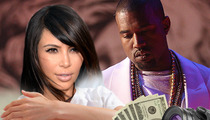 Kim Kardashian & Kanye West -- North West's Mug NOT For Sale