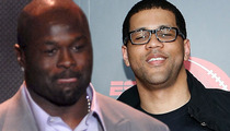 Hugh Douglas -- FIRED FROM ESPN ... Allegedly Called Co-Host 'Uncle Tom'