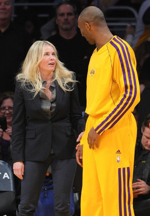 Chelsea Handler and Kobe Bryant