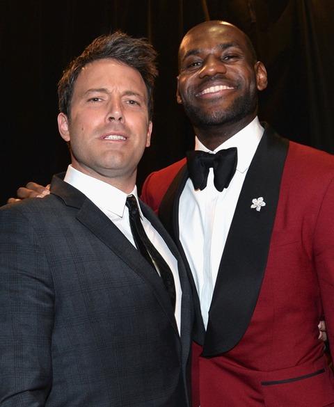 Ben Affleck and LeBron James