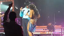 Toni Braxton -- Wardrobe Malfunction At Concert [Video]