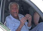 Dick Van Dyke Emergency -- Actor Pulled Out of Flaming Vehicle
