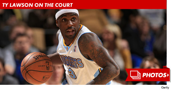 NBA Star Ty Lawsons Pregnant GF -- He Shoved Me Before Arrest