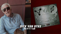 Dick Van Dyke 911 Tape -- He's Still in the Car, Oblivious to Fire
