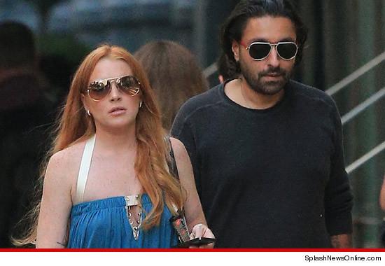 Lindsay Lohan Avoids the Danger Zone