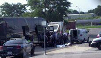 Rap Tour Bus Standoff in OKC -- Cops Suspect Drugs On Board
