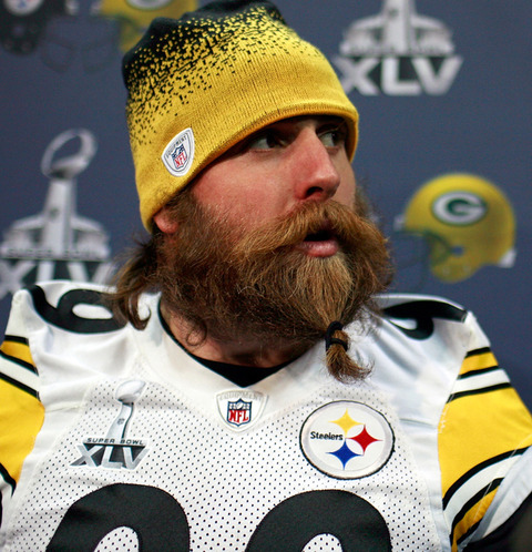#3 - The Steelers' Brett Keisel