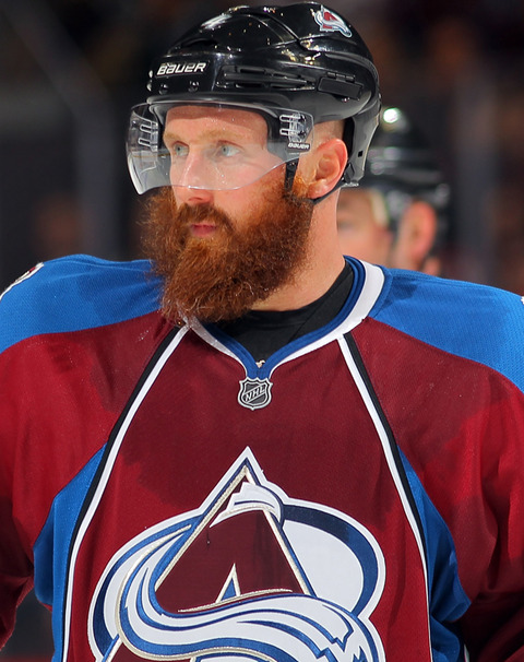 #6 - Greg Zanon of the Colorado Avalanche