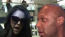 Khloe Kardashian and Lamar Odom -- SEPARATED