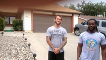 WWE Superstar CM Punk -- I'm the One Who Knocks ... On Walter White's Door