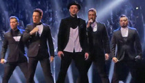 *NSYNC -- Reunited ... For About a Second