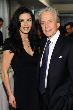 Michael Douglas and Catherine Zeta-Jones Together
