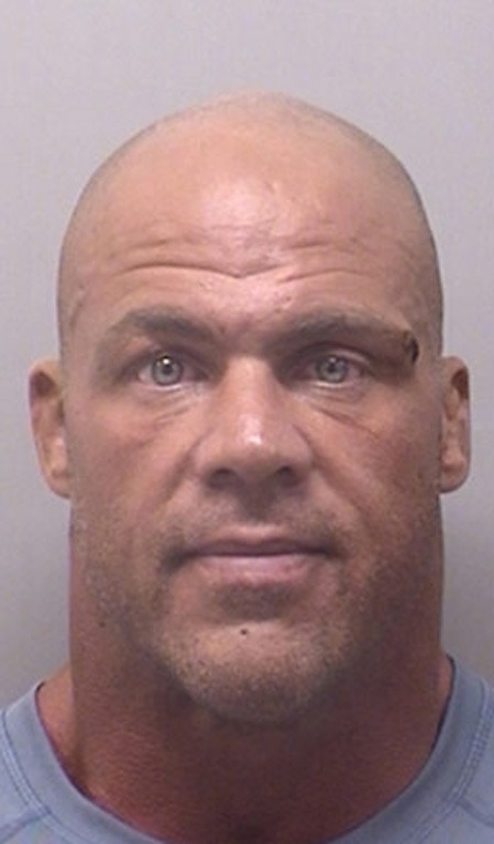 Kurt Angle was arrested for DWI again in August 2013