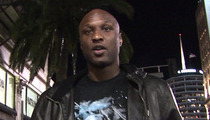 Lamar Odom -- On Crack Binge ... With 2 Women