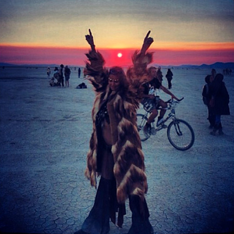 "<span>Just two months after her split from </span><strong>George Clooney,</strong><span> </span><strong dir=""ltr"" id=""tinymce"" class=""mceContentBody "">Stacy Keibler</strong><span> trekked into the scorching Nevada desert for the </span><strong>Burning Man</strong><span> festival ... in a very tiny outfit.</span>"