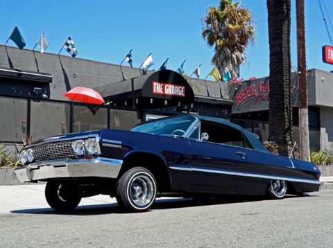 "K<strong>obe Bryant</strong><span>'s famous customized '63 Chevy lowrider -- tricked out by the guys from ""Pimp My Ride"" -- is back on the auction block ... and it could be yours if you've got an extra $100k laying around.</span>"