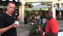 NBA Legends Chris Mullin & Mitch Richmond -- Reunited ... For Frozen Yogurt