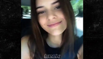 Kendall Jenner -- Driving While Fame Whoring