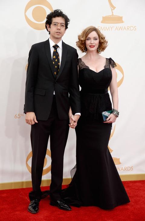 Geoffrey Arend and Christina Hendricks