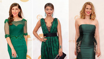 Emmys Red Carpet Going Green -- Who'd You Rather?