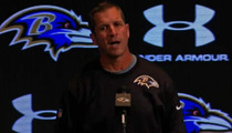 Baltimore Ravens Coach John Harbaugh -- Rips Players After Brawl ... Nothing Good Happens After Midnight