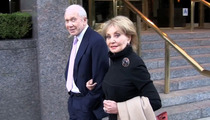 Barbara Walters' Anonymous Stroll In NYC