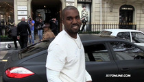 Kanye West -- All Smiles in Paris, If Photogs Don't Talk