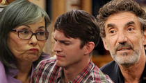 Roseanne Goes Off On Chuck Lorre -- That Drunk Stole My Joke