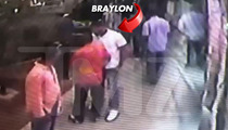 Ex-NFL Star Braylon Edwards -- VIDEO OF NIGHTCLUB ATTACK ... Grabs Ankles, Flips Photog On Face