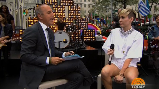 Miley to Matt Lauer People Stop Bangin' at 40 ... And You're Way Past 40