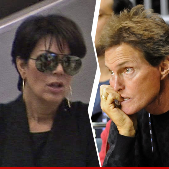 Kris and Bruce Jenner Separated