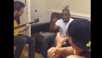 Coolio -- Gangsta's Paradise Unplugged ... Rapper Jams with College Kids