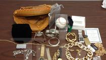 Ex-Atlanta Braves Star -- PRIZED CATCHER'S MITT STOLEN ... Doctor Arrested