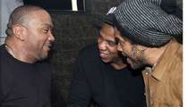 Timbaland -- Post-Separation Party ... With Jay-Z and Lenny Kravitz