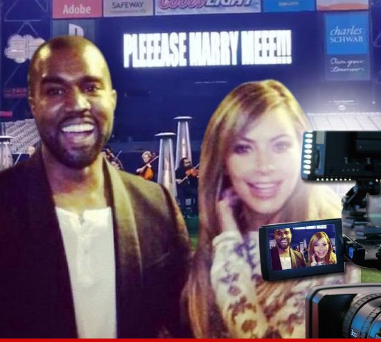 Kanye West's Marriage Proposal -- Coming To A Kardashian