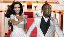 Kim Kardashian, Kanye West -- In a Big Hurry to Get Married
