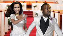 Kim Kardashian, Kanye West -- In a Big Hurry to Get Married