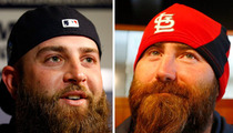 Mike Napoli vs.  Jason Motte -- Whose Beard is Better?