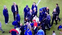 Gary Kubiak -- Houston Texans Head Coach COLLAPSES During Game ... Carted Off Field in Extreme Pain