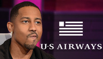 Brandon T. Jackson -- Inflight Pain In the Ass ... Says Airline