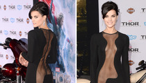 'Thor' Star Jaimie Alexander -- ALMOST NAKED ... at Movie Premiere